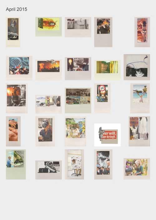 Zeitungshacker 25 Thumbnails Collageprojekt April 2015