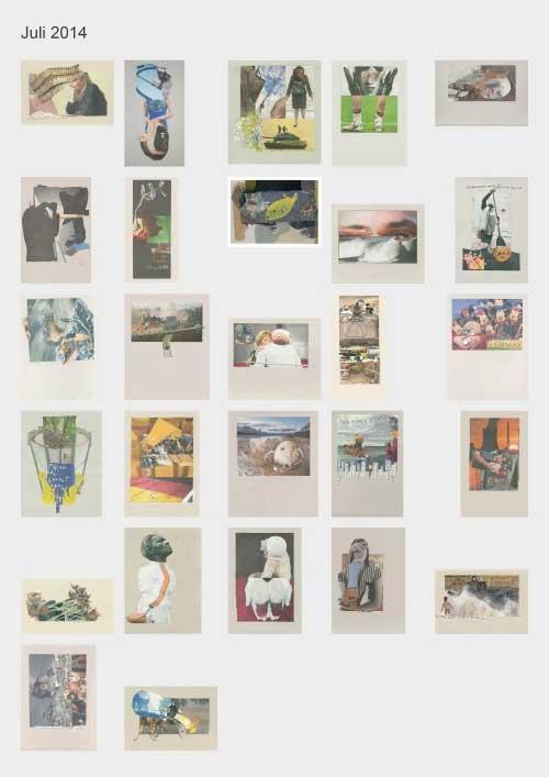Zeitungshacker 27 Thumbnails Collageprojekt Juli 2014