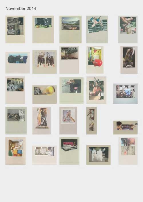 Zeitungshacker 25 Thumbnails Collageprojekt November 2014