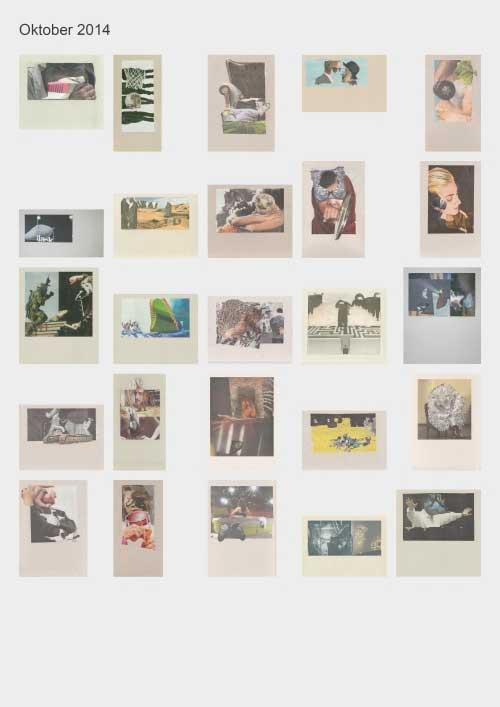 Zeitungshacker 25 Thumbnails Collageprojekt Oktober 2014