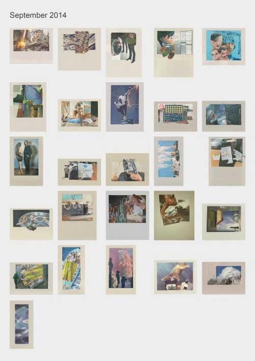 Zeitungshacker 26 Thumbnails Collageprojekt September 2014